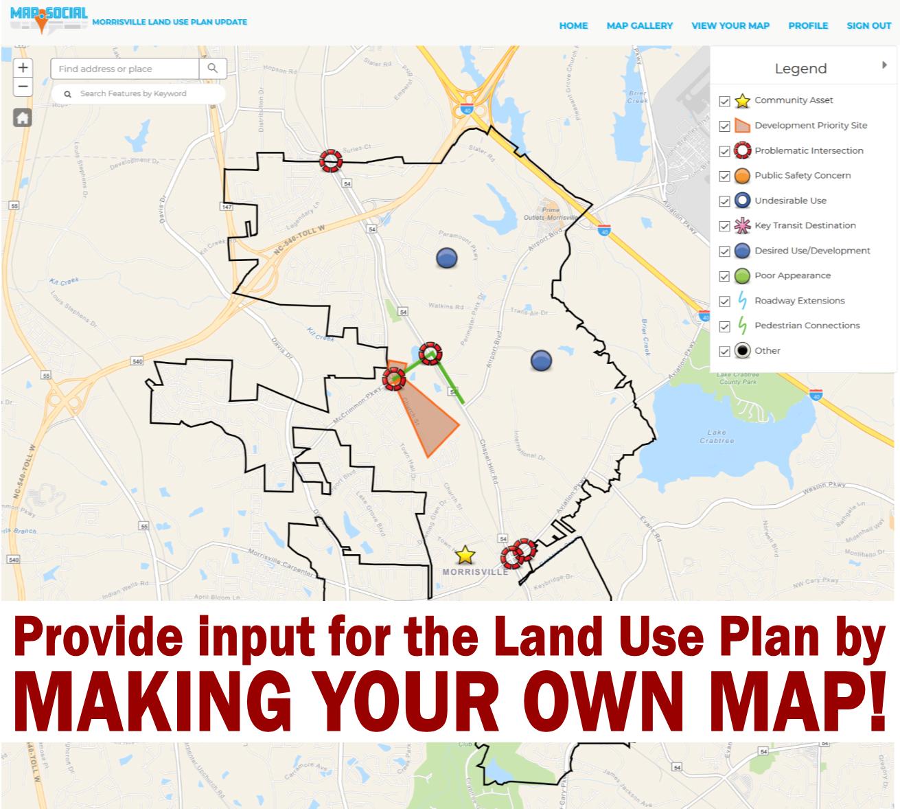 Land Use Plan Make Your Own Map