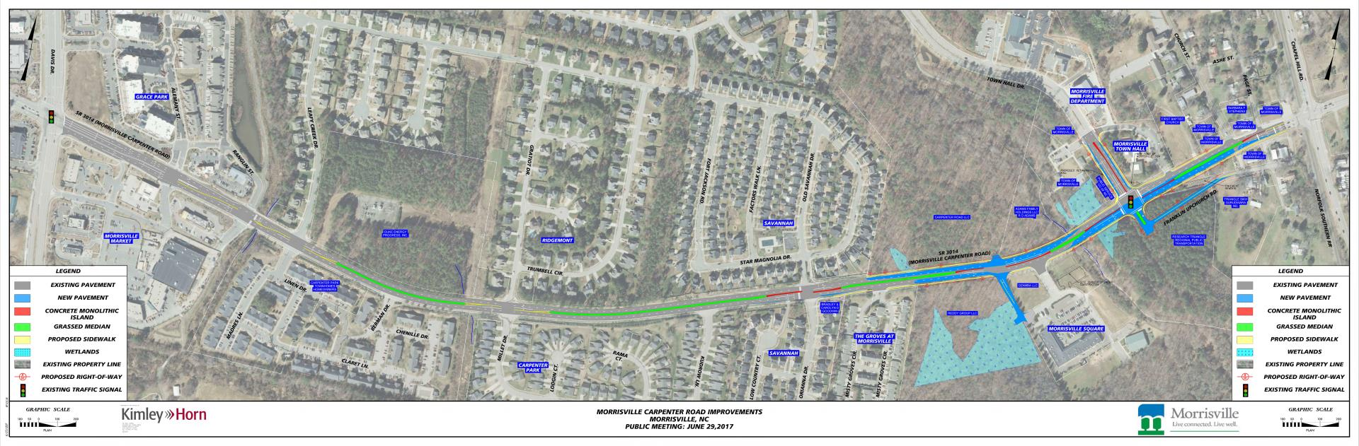 Morrisville Carpenter Public Mtg Map