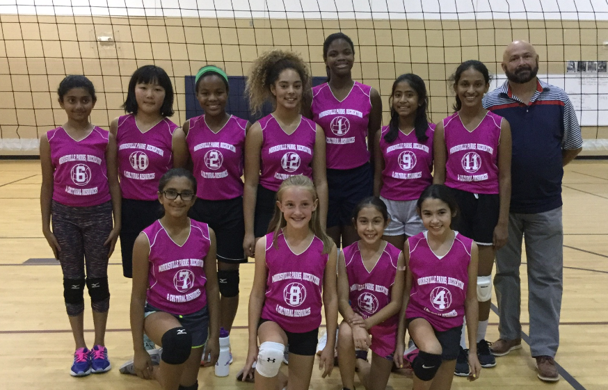 defenders volleyball team
