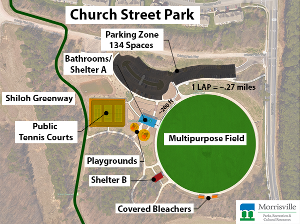 Church Street Park Map
