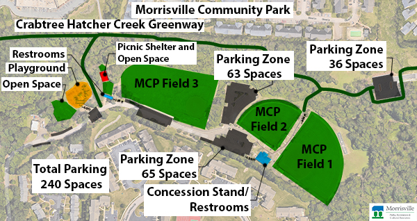 Morrisville Community Park Map