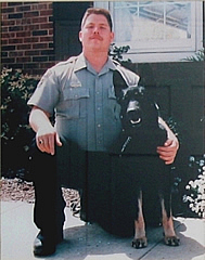 sgt Godwin and his dog
