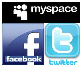 Social Networks collage